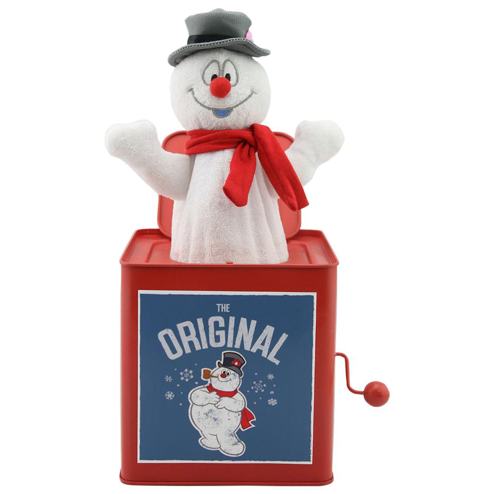 10.63 in. Jack in The Box-Frosty-112633 - The Home Depot