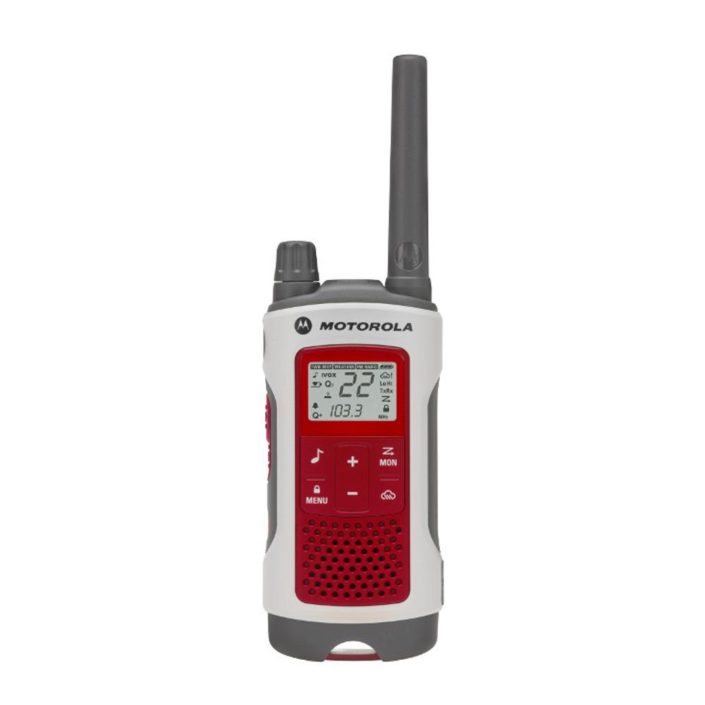 Motorola T480 2-WAY Radio (RED/WHI - [SITE DISCOUNT] T480