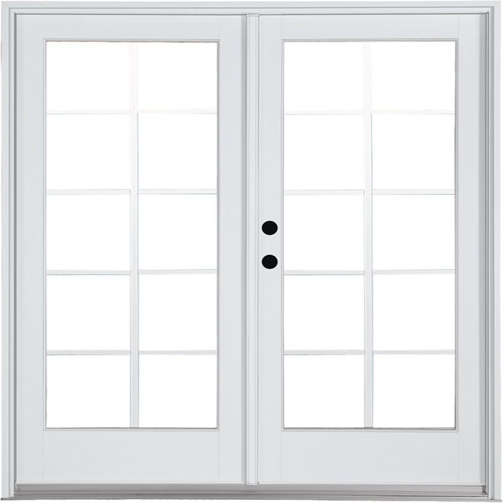 Fiberglass Double Door French Patio Door Patio Doors