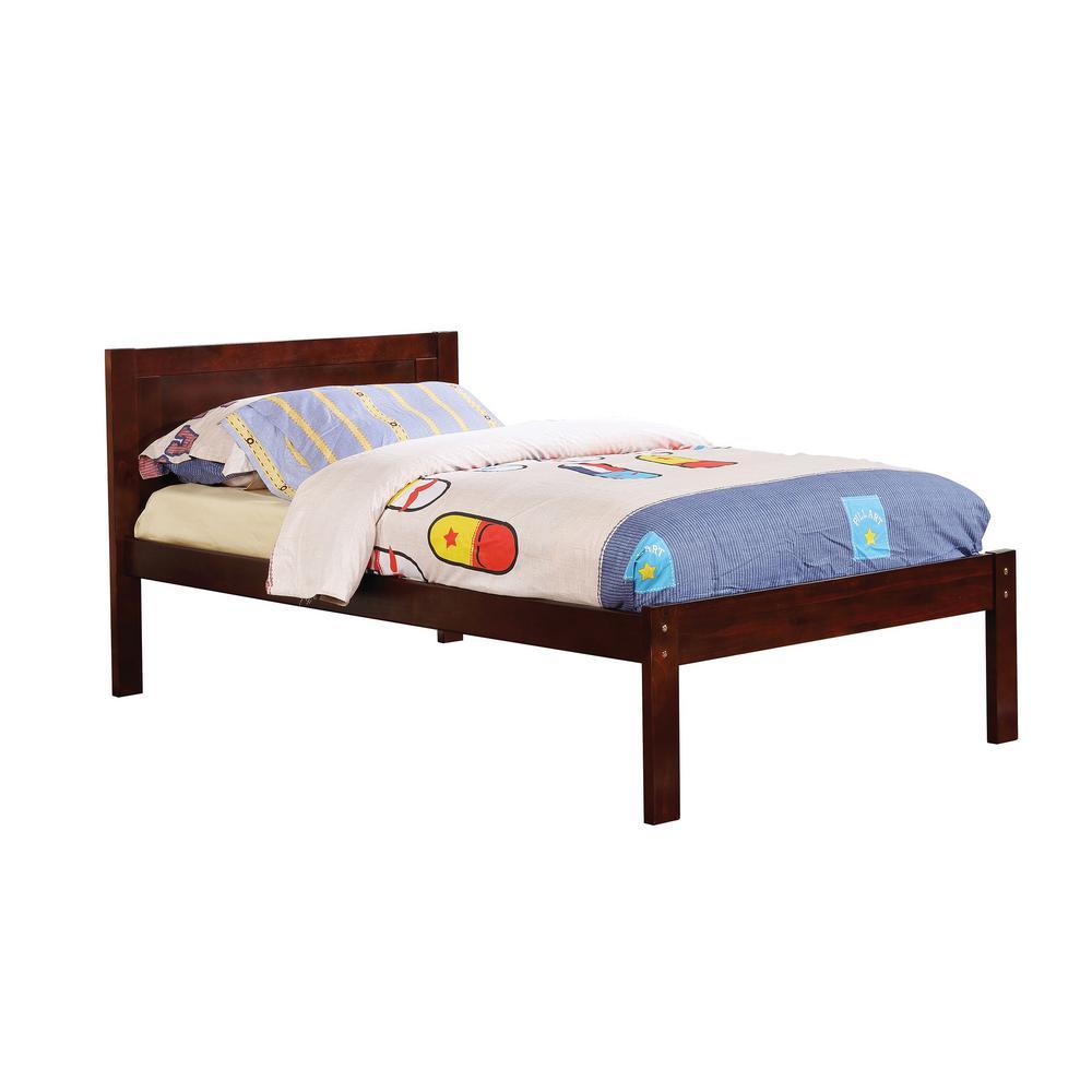 Annemarie in Dark Walnut Full Bed
