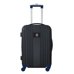 MLB Houston Astros 21 in. Navy Hardcase 2-Tone Luggage Carry-On Spinner Suitcase