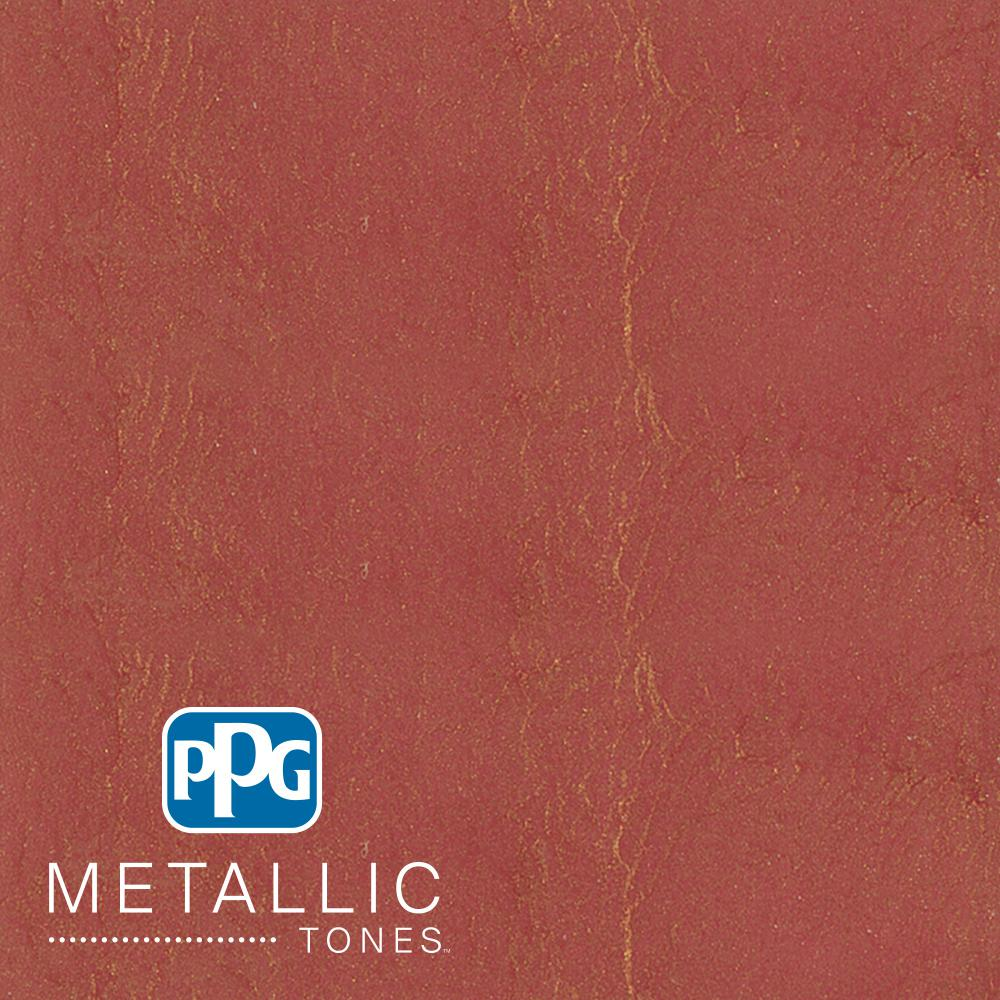 PPG METALLIC TONES 1  gal. #MTL142 Sanguine Metallic Interior Specialty Finish Paint