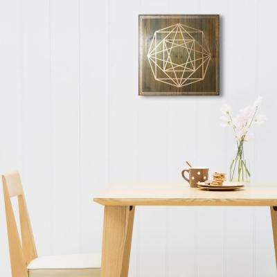 "14 in. x 14 in. ""Geometric Octagon"" by Wynwood Studio Framed Printed Wall Art"