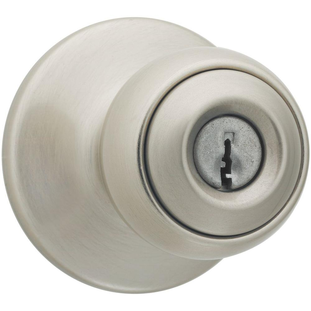 Polo Satin Nickel Entry Knob