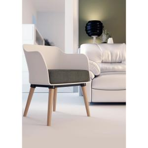 Remarkable Cozyblock Cali Series White Modern Accent Living Room Arm Alphanode Cool Chair Designs And Ideas Alphanodeonline