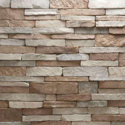 Stacked Stone Villa Flats 150 sq. ft. Bulk Pallet Manufactured Stone