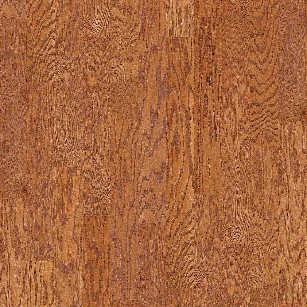 Shaw Bradford Oak Sunset Oak 3/8 in. Thick x 5 in. Wide x Random Length Engineered Hardwood Flooring (23.66 sq. ft. / case)