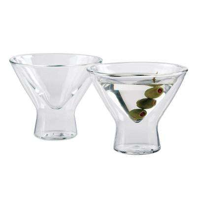 8 oz. Steady-Temp Martini Glasses