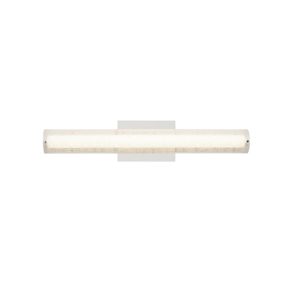 Jarvas 24 Bath 23.3-Watt Polished Chrome Integrated LED Bath Light