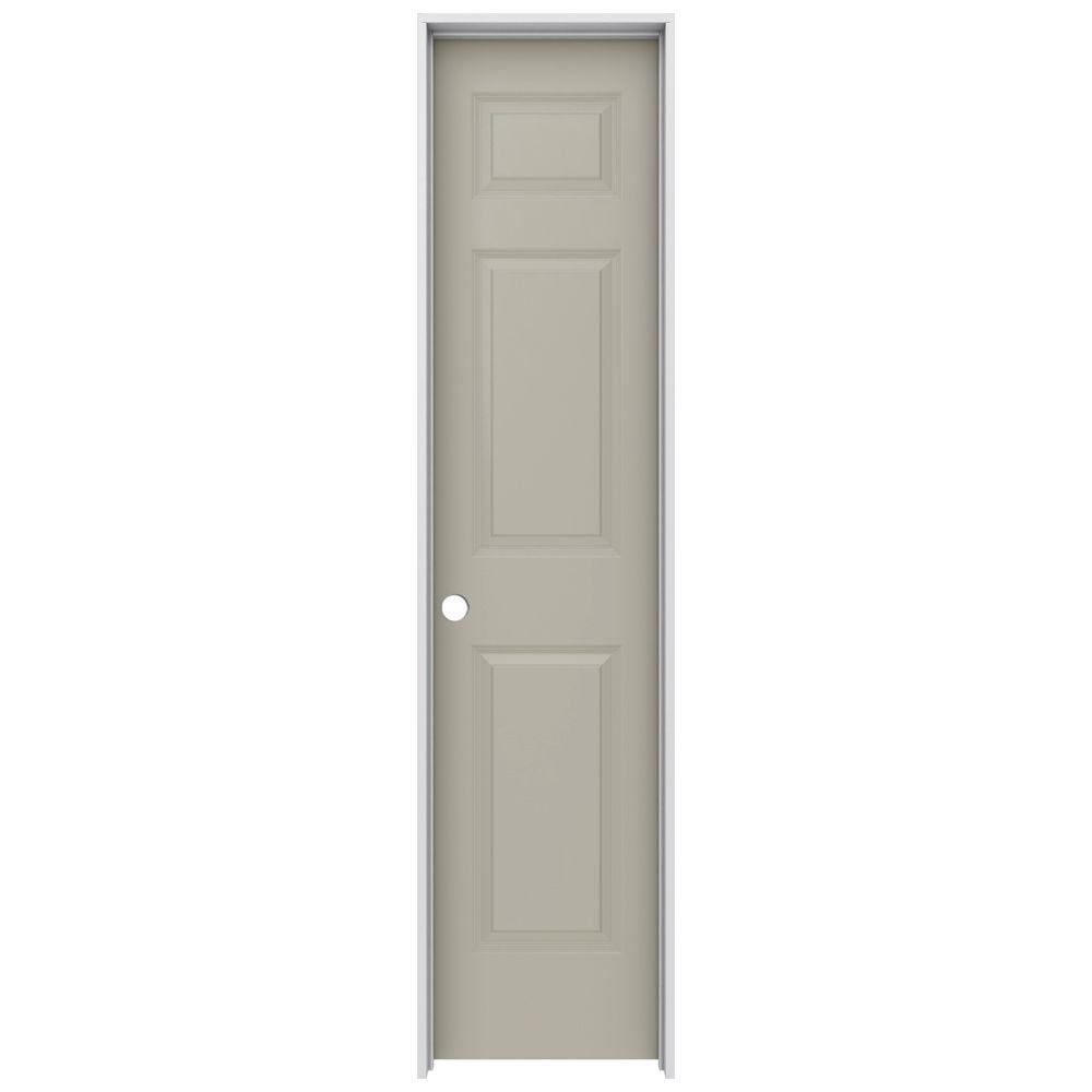 Jeld wen 18 in x 80 in colonist desert sand right hand for 18x80 prehung door