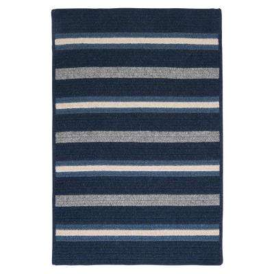 Primrose Navy 2 ft. x 10 ft. Runner Rug