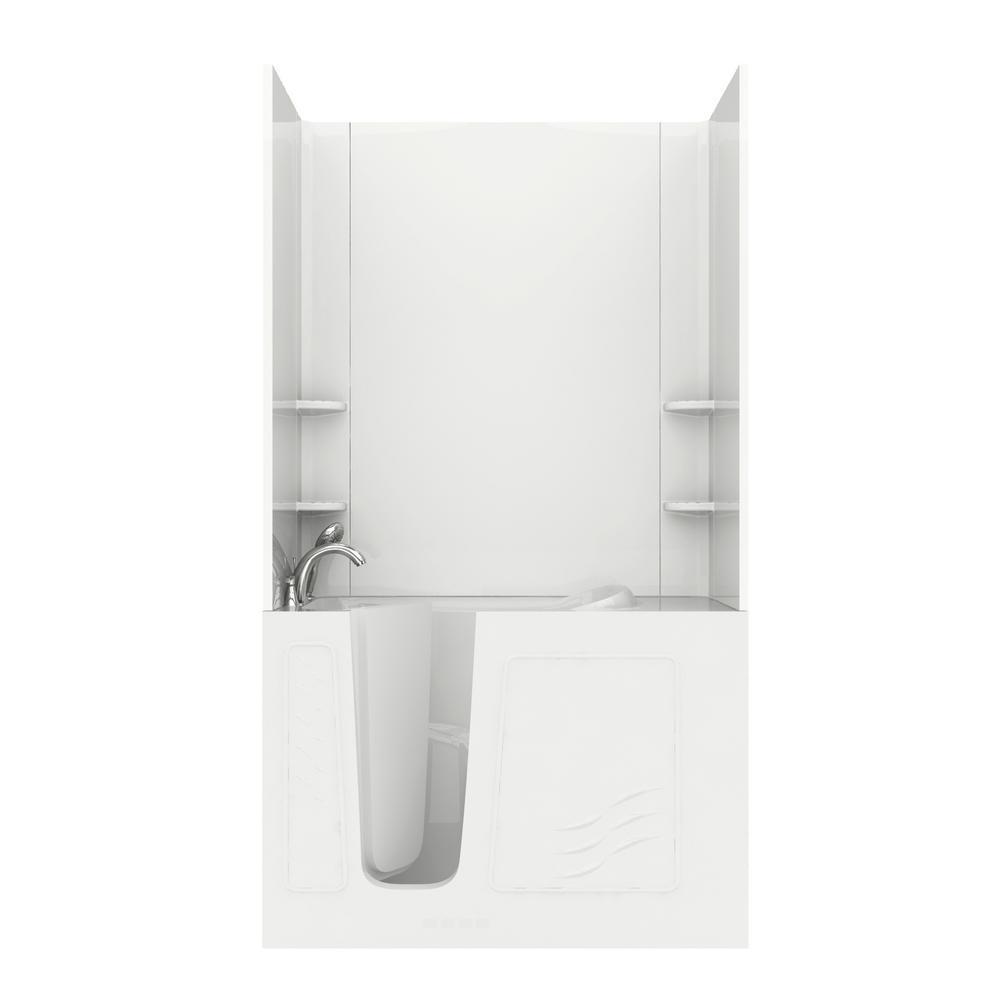 Bathtub Walls & Surrounds - Bathtubs - The Home Depot