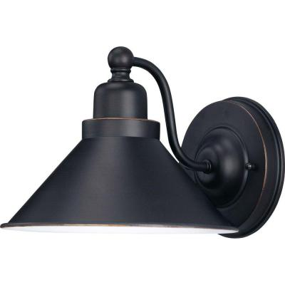Siwa 1-Light Mission Dust Bronze Sconce