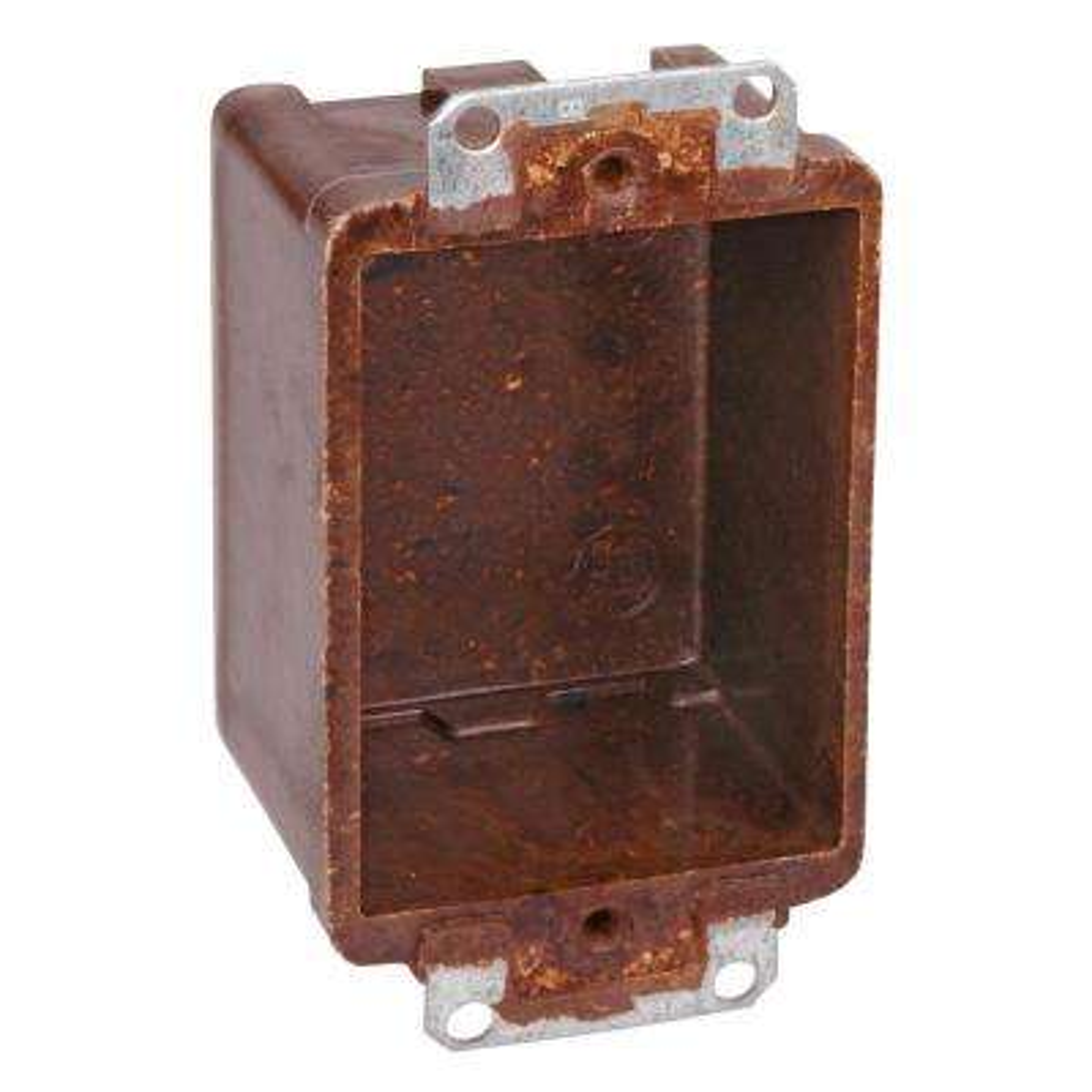 1-Gang 9 cu. in. Bracket Outlet Box (Case of 100)