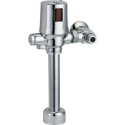 Exposed Hardwire-Operated Flush Valve in Chrome