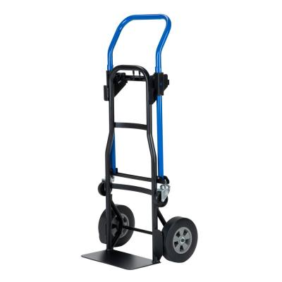 Milwaukee 1,000 lb  Capacity 4-in-1 Hand Truck-60137 - The Home Depot