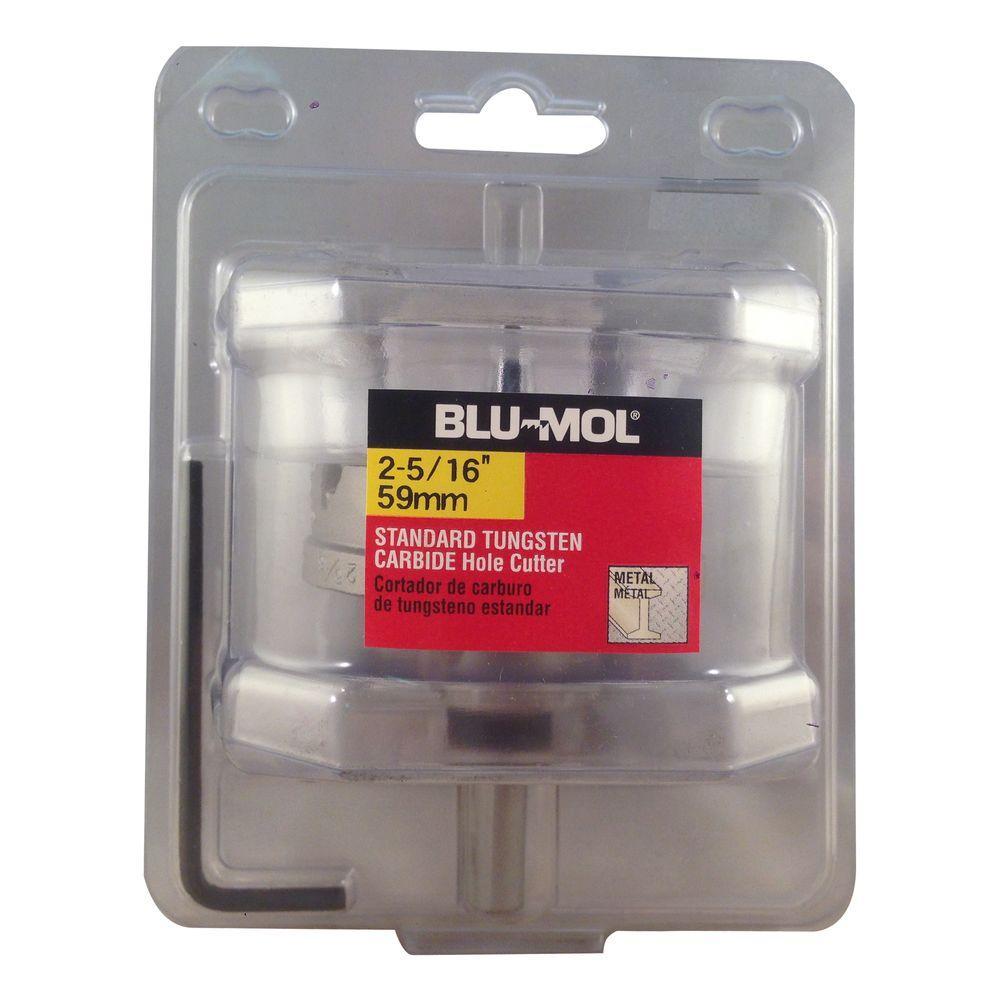 BLU-MOL 2-5/16 inch Standard Tungsten Carbide Hole Cutter by BLU-MOL