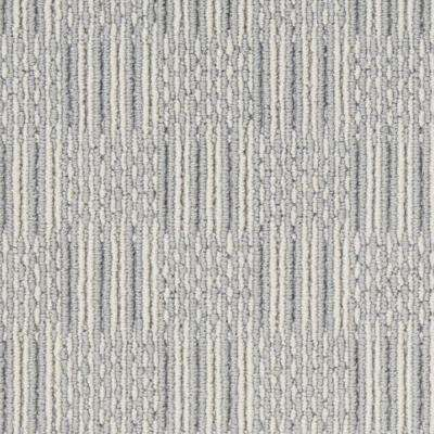 Carpet Sample - Upland Grid - Color Bayview Loop 8 in. x 8 in.