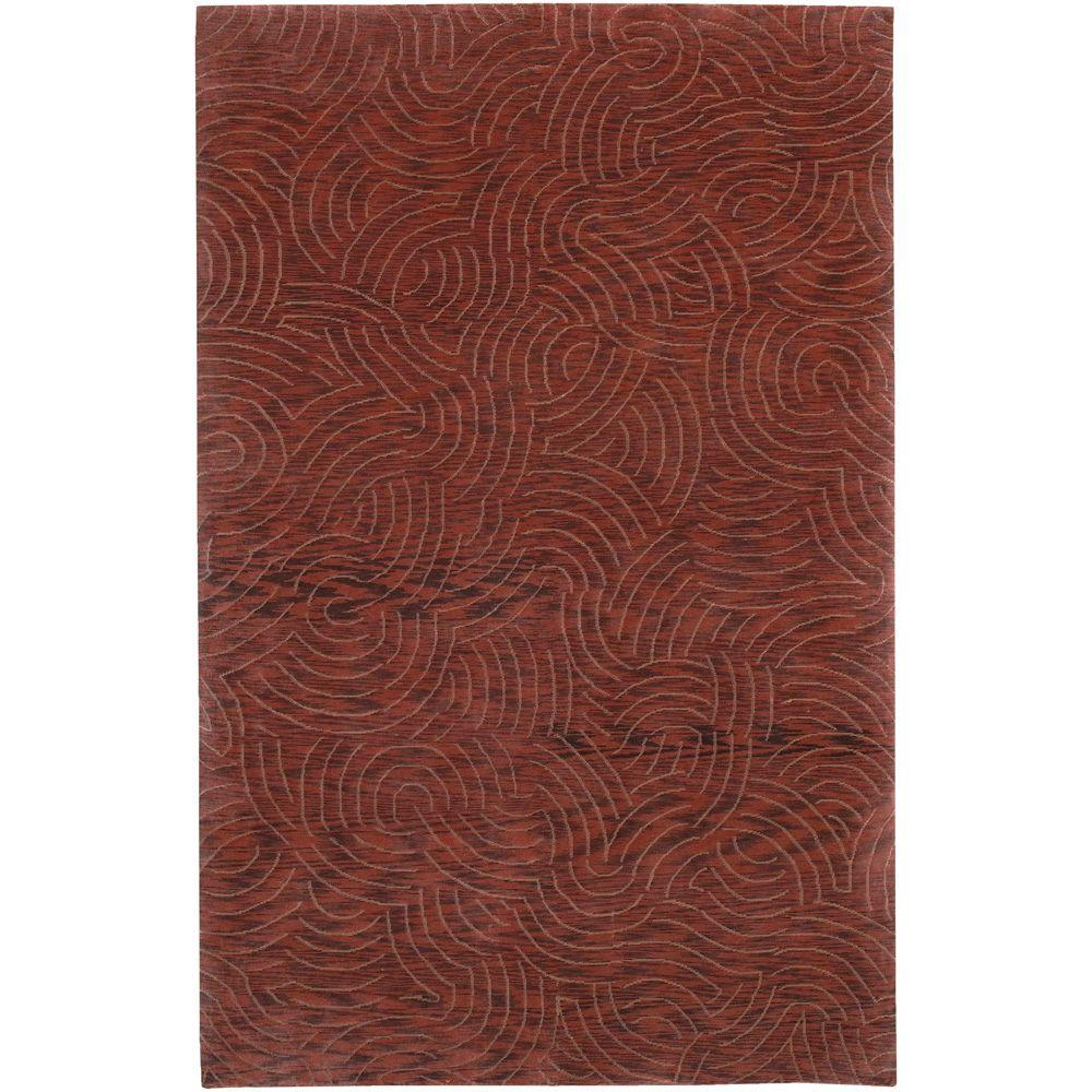 Surya Julie Cohn Red 4 ft. x 6 ft. Area Rug