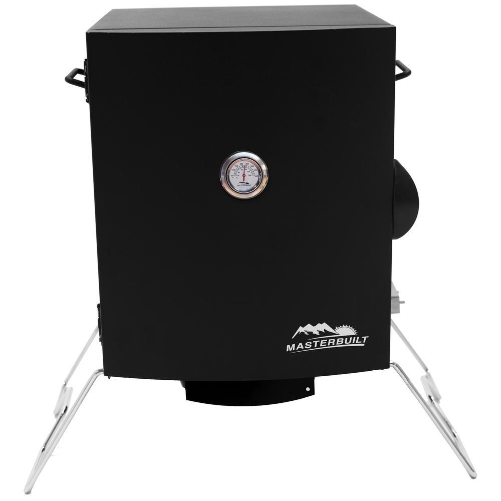 Masterbuilt portable electric smoker 20073716 the home depot for Smoked fish in masterbuilt electric smoker