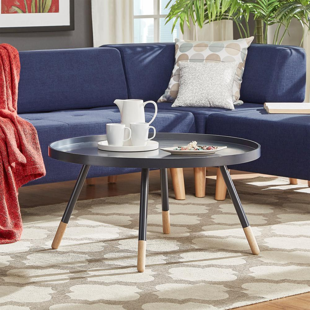Homesullivan hanna midnight coffee table 40701 30v the for Table hanna