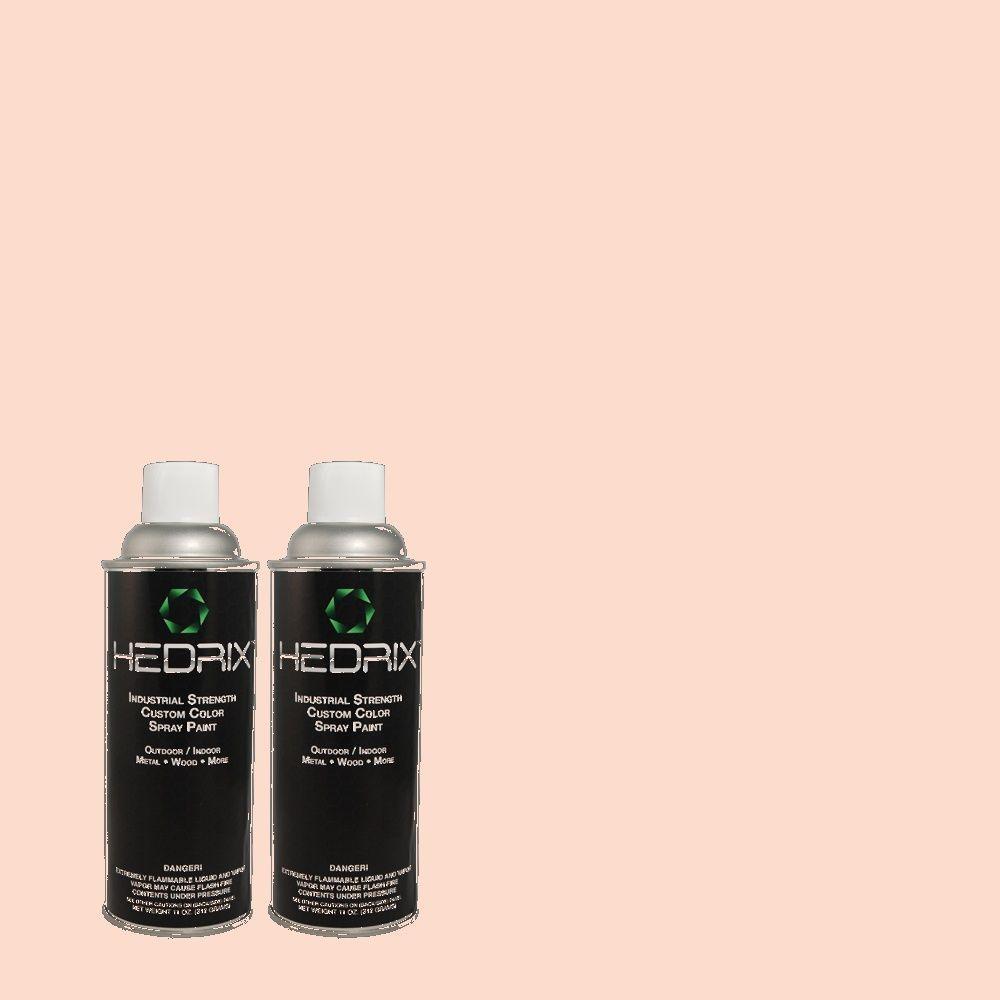 Hedrix 11 oz. Match of C2-3NW Twilight Low Lustre Custom Spray Paint (2-Pack)
