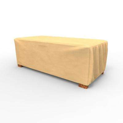 All-Seasons Large Slim Patio Ottoman Covers