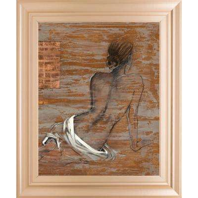 "22 in. x 26 in. ""Vivenne"" by Saro"" Framed Printed Wall Art"