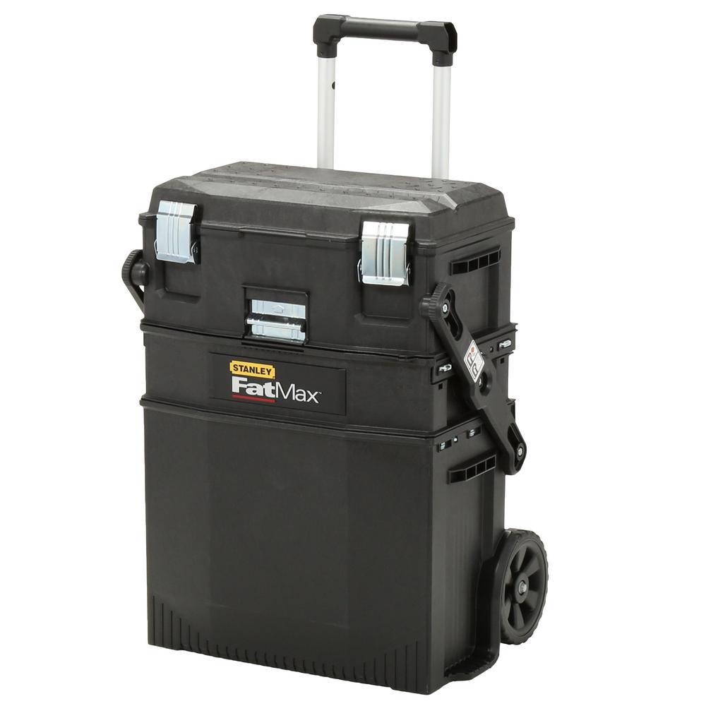 22 in. 4-in-1 Cantilever Tool Box Mobile Work Center