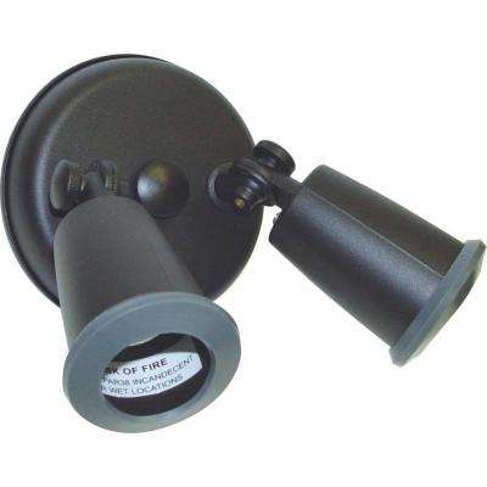 glomar weather resistant bronze outdoor security lighting