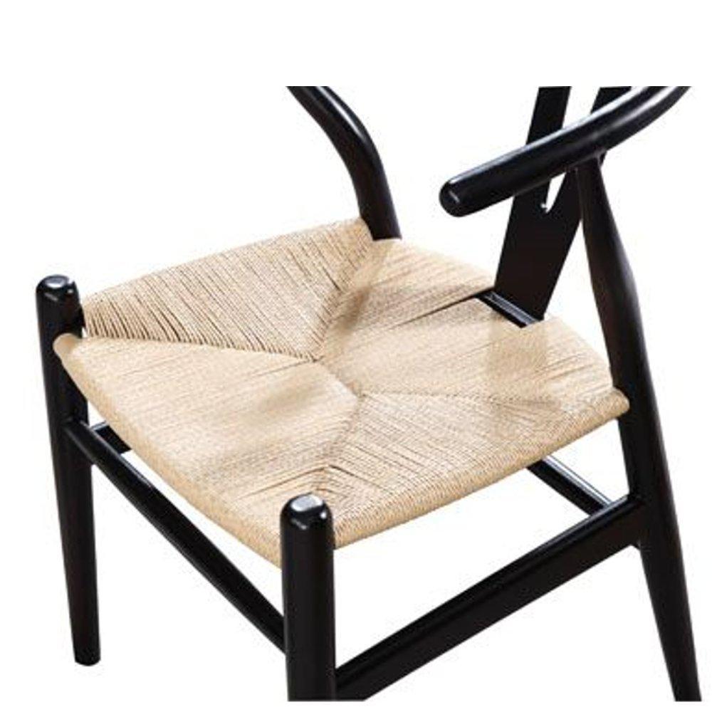 Black Woodstring Dining Chair