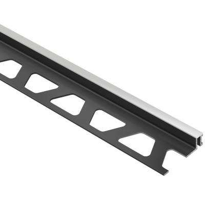 Dilex-BWA Classic Grey 1/2 in. x 8 ft. 2-1/2 in. PVC Movement Joint Tile Edging Trim