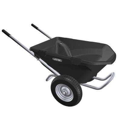 6.5 cu. ft. Plastic Wheelbarrow