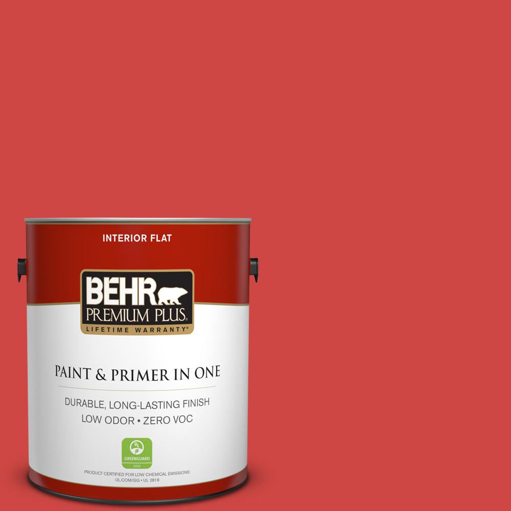 Behr Premium Plus 1 Gal P170 6 Race Car Stripe Flat Interior
