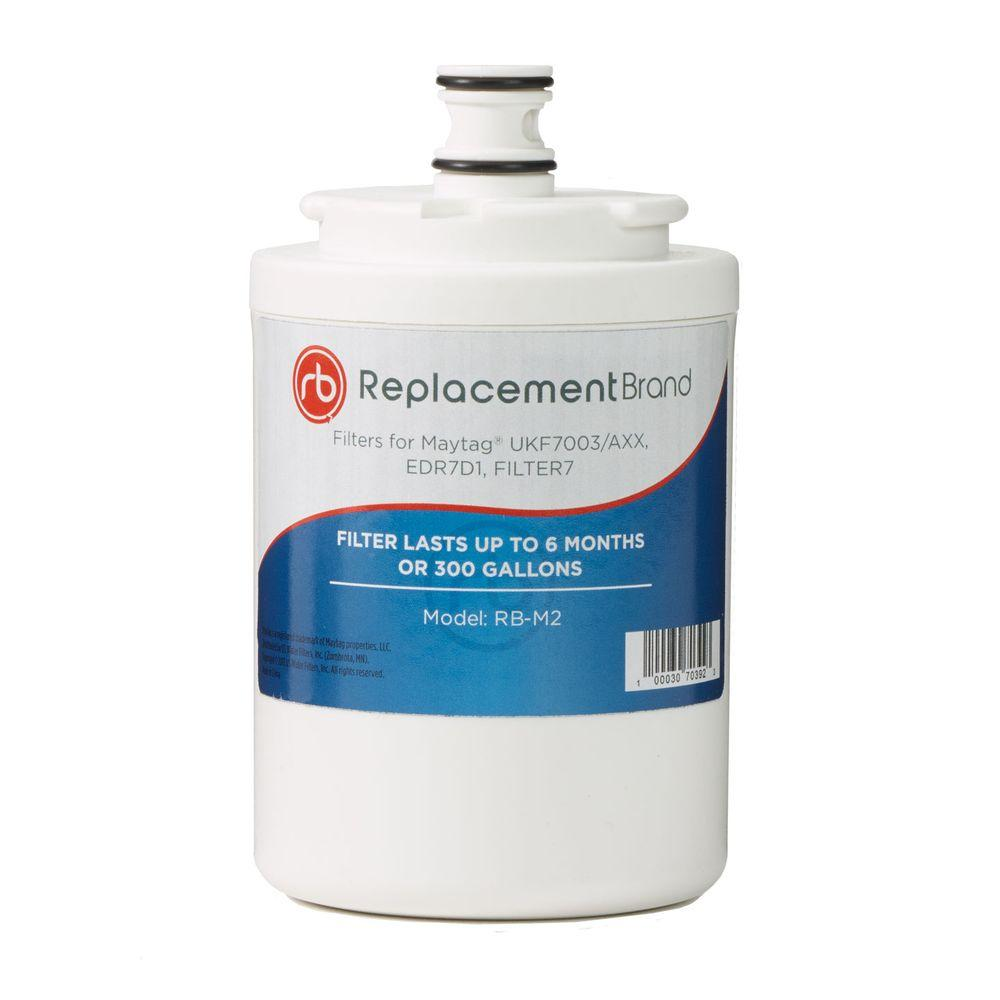 ReplacementBrand UK7003 Comparable Refrigerator Water Filter