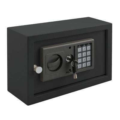 Buddy 0.27 cu. ft. Steel Drawer Safe with Electronic Lock, Black