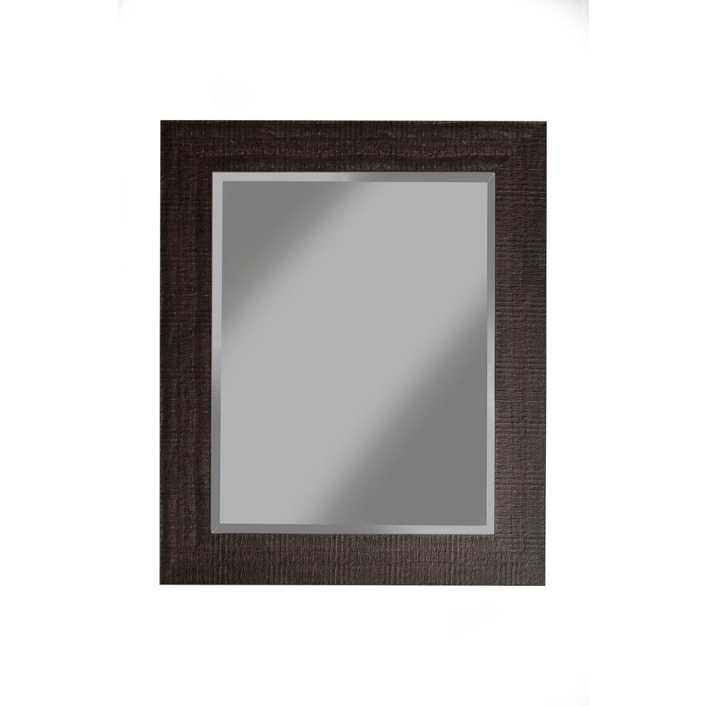 Rustic Espresso Wall Mirror