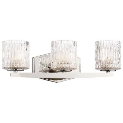 Maginot LED Polished Nickel Integrated LED Vanity Light Bar