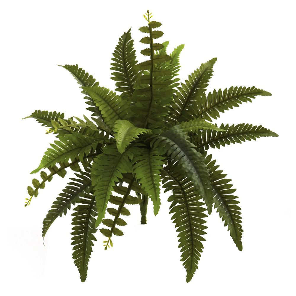 Nearly Natural Indoor 14 In Boston Fern Artificial Plant Set Of