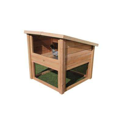 45 in. L x 45 in. W x 48 in. H Chicken Coop Pet Cottage
