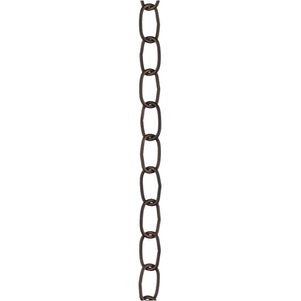 3 ft. 11-Gauge Oil Rubbed Bronze Fixture Chain