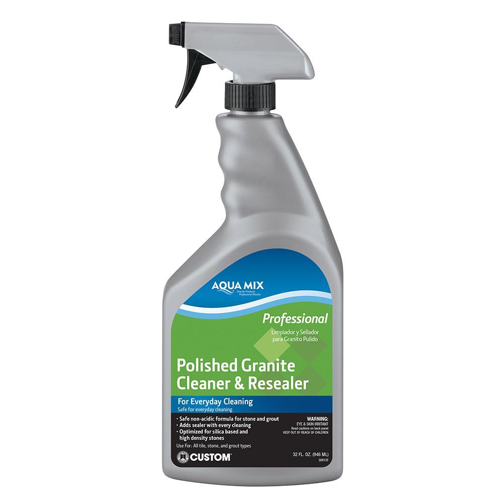 Aqua Mix 1 Qt. Polished Granite Cleaner and Resealer