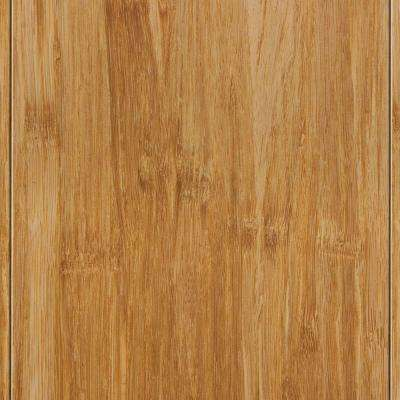 Strand Woven Wheat 9/16 in. Thick x 4-3/4 in. W x 36 in. L Solid T and G Bamboo Flooring (19 sq.ft/case)