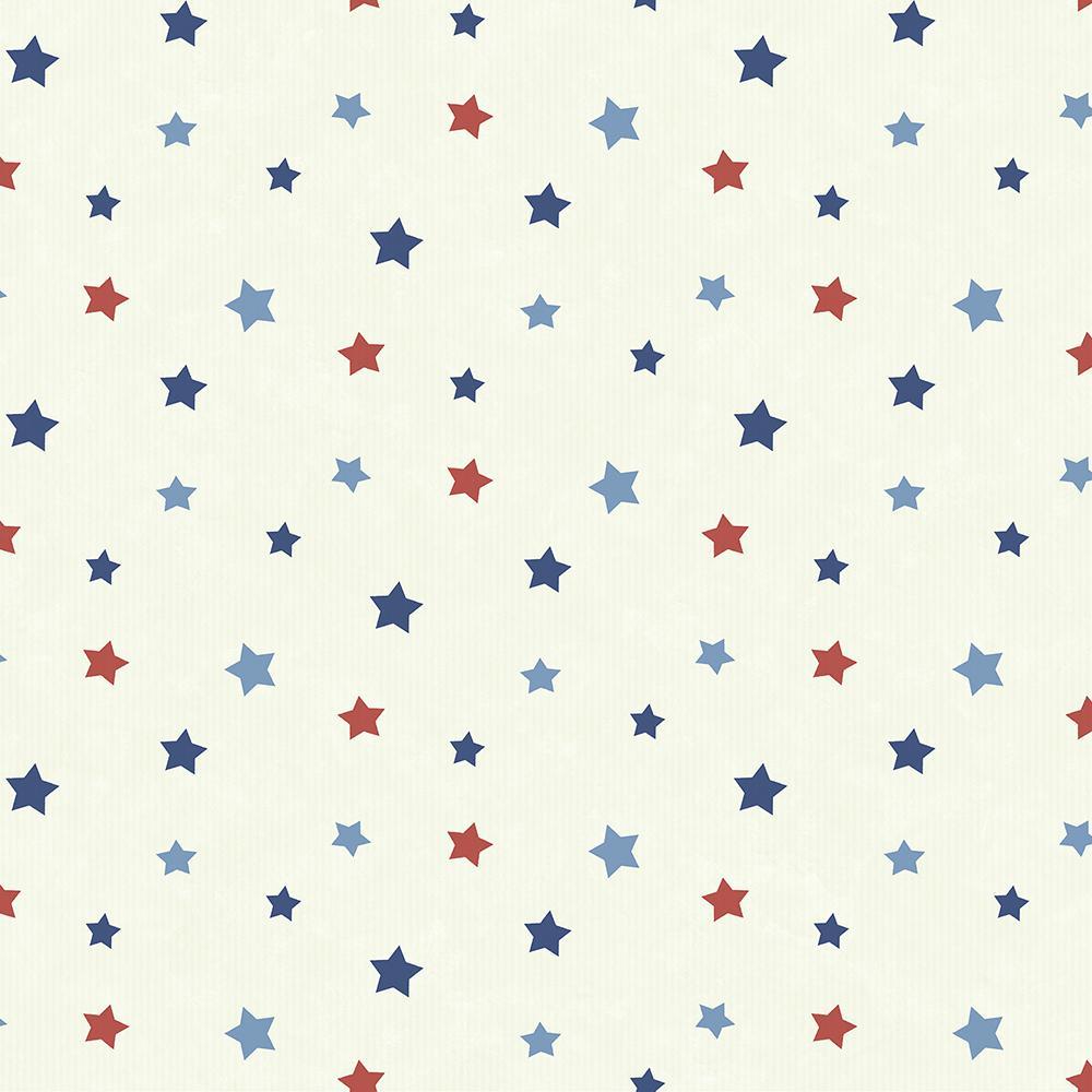 Yoni Navy Dancing Stars Wallpaper