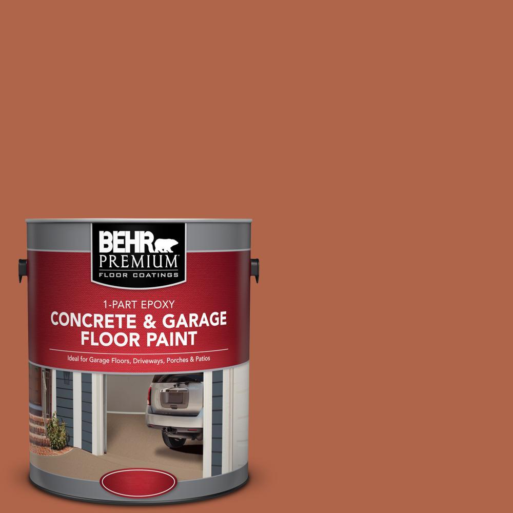 1 gal. #M200-7 Rusty Gate 1-Part Epoxy Concrete and Garage Floor Paint