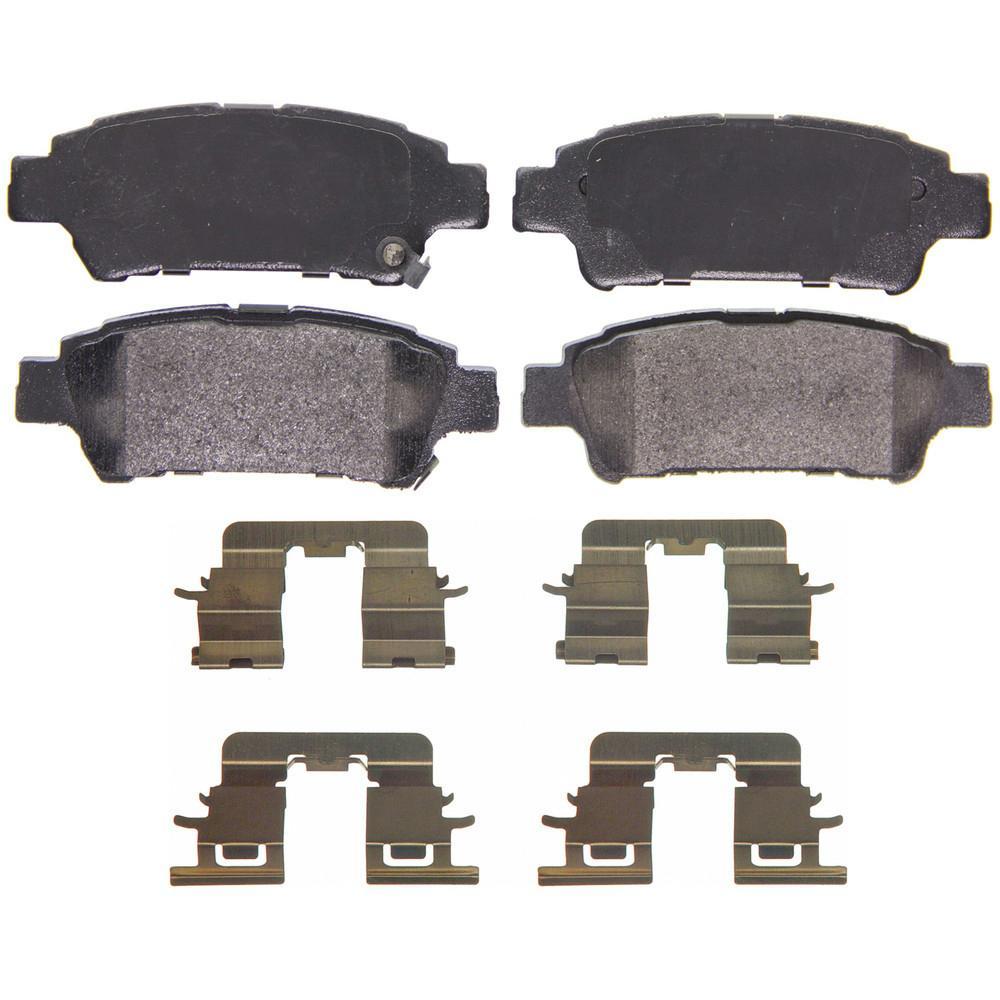 Carlson Front Disc Brake Hardware Kit for 2004-2010 Toyota Sienna Pad gu