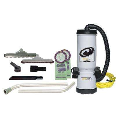 MegaVac 10 qt. Backpack Vac with Blower Tool, Felt and Horse Hair Hard Surface Tool Kit