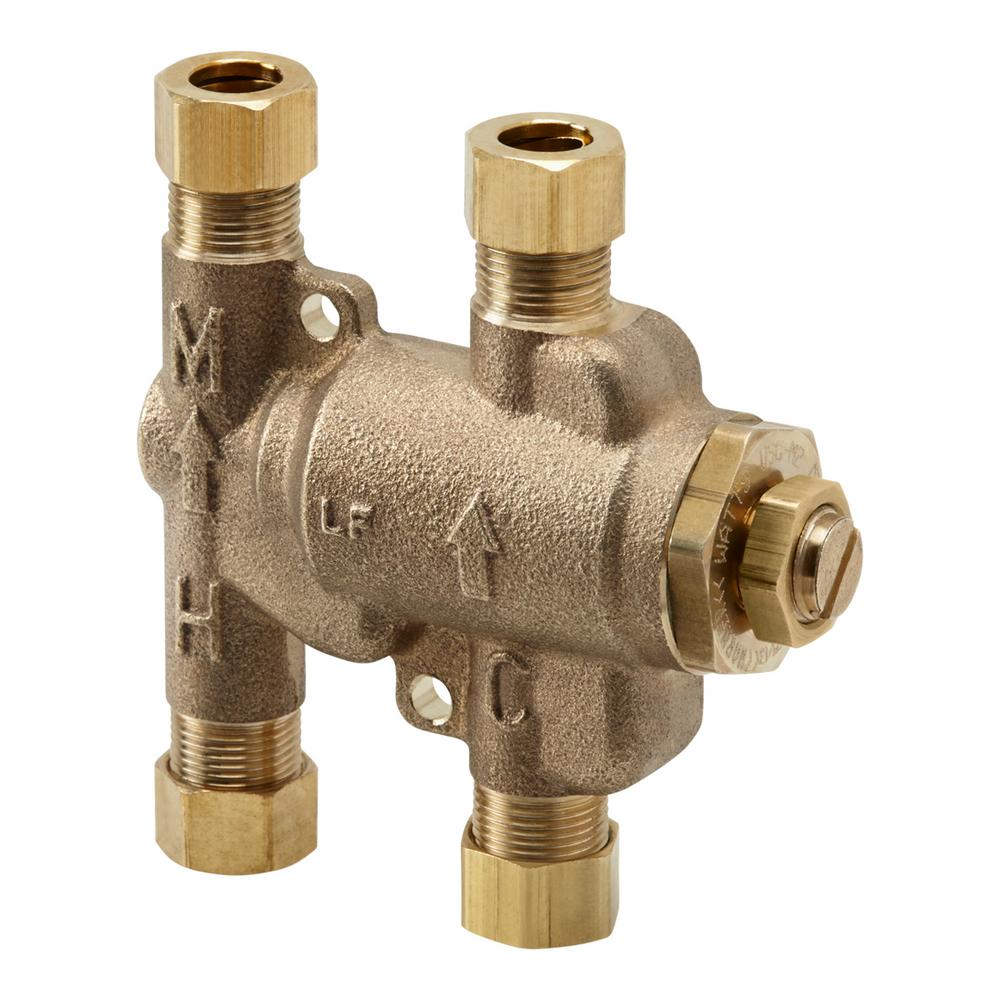 KOHLER Under-Counter Thermostatic Mixing Valve-K-99799-NA - The Home ...