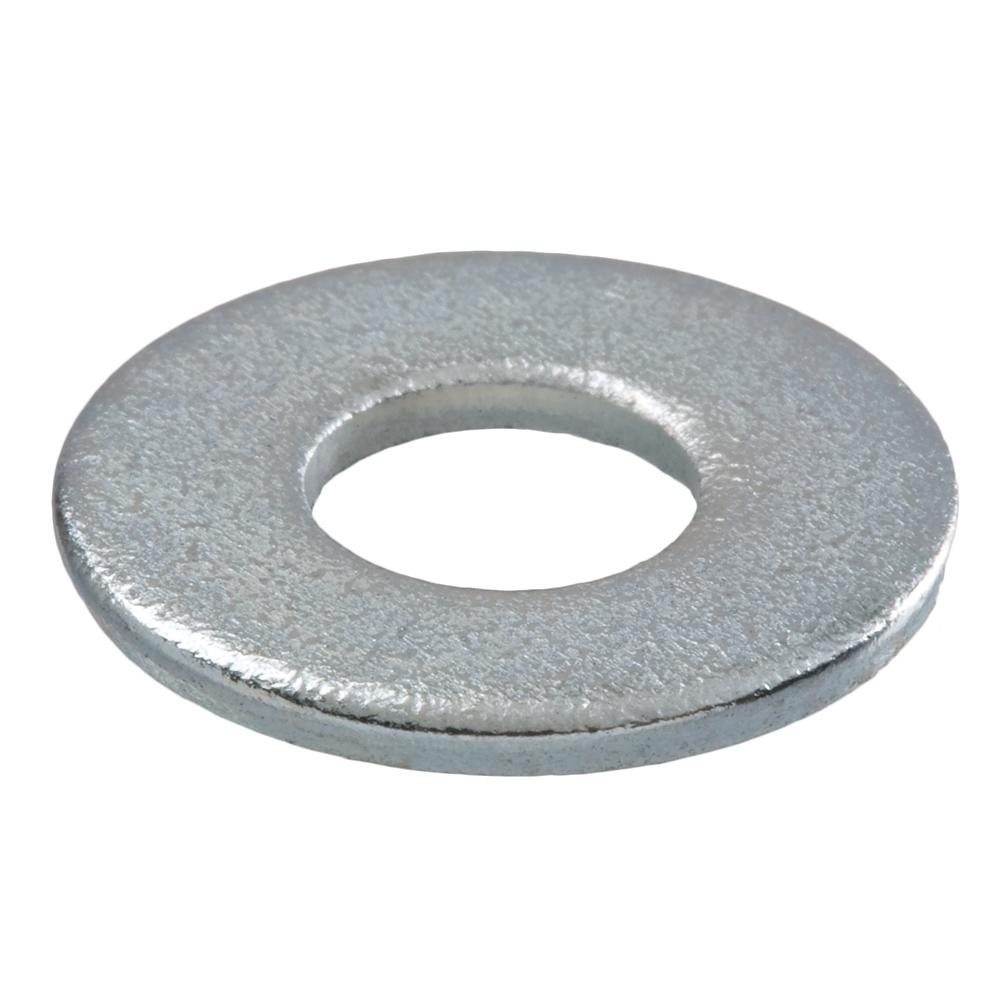 Crown Bolt 1/4 in. Zinc-Plated SAE Flat Washer (100 per Pack)