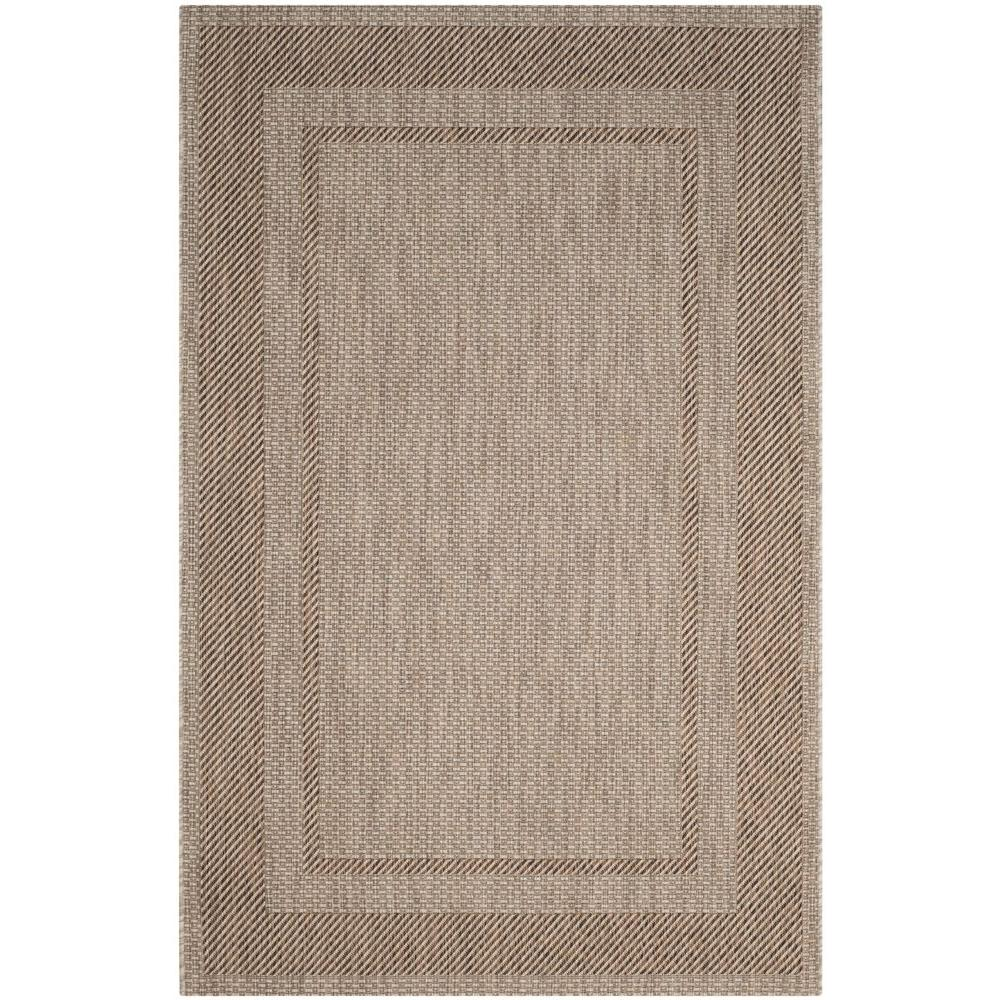 Outdoor Rug 7 X 10: Safavieh Courtyard Beige/Brown 7 Ft. X 10 Ft. Indoor